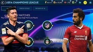FIFA MOBILE 19 EKIPA LEWANDOWSKIEGO VS SALAH ( LIVERPOOL ) LIGA MISTRZÓW NA LAJCIE