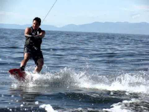 Wake Boarding in Bear Lake 2011 part1