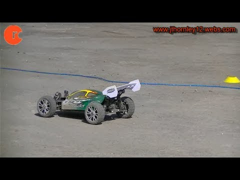HSP Planet Brushless Testing at RC Track - Battery 2