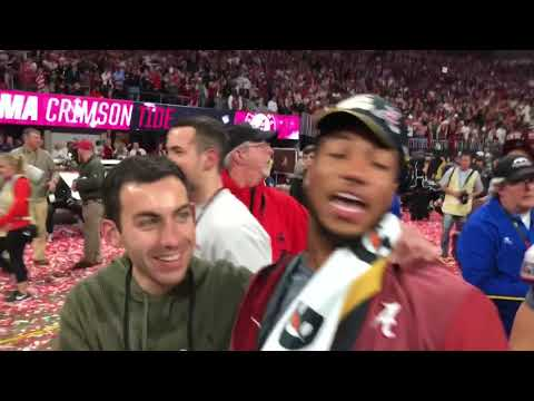 Relive the full national championship celebration after Alabama's thrilling win over Georgia