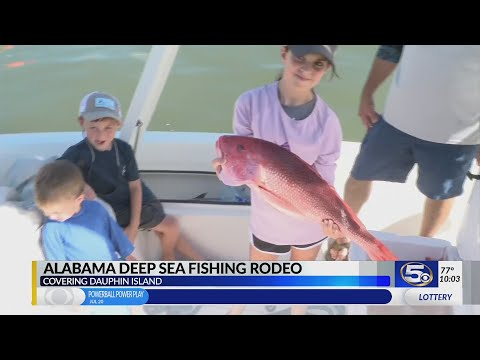 86th Annual Alabama Deep Sea Fishing Rodeo Wraps Up