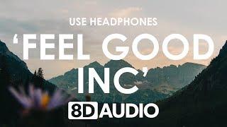 Filous - Feel Good Inc. (ft. LissA) (8D AUDIO)