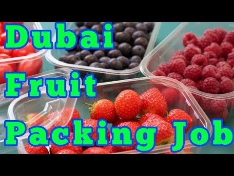 Urgently require helper for fruit packing in Dubai