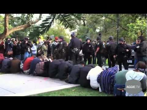 UC Davis Protestors Pepper Sprayed