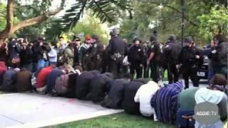 UC Davis Protestors Pepper Sprayed
