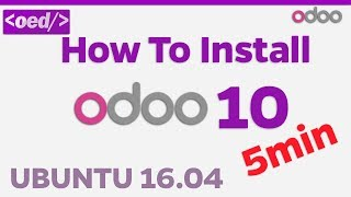 Como Instalar Odoo 10 en Ubuntu 16.04 Full en menos de 5 minutos