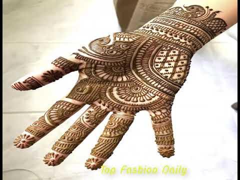 Top Latest Palm simple Mehndi Designs 2018/2019