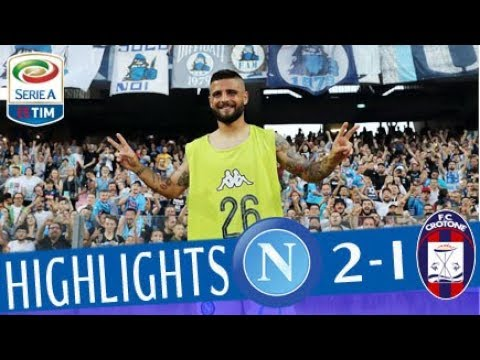 Napoli - Crotone 2-1 - Highlights -...
