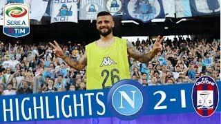 Napoli - Crotone 2-1 - Highlights - Giornata 38 - Serie A TIM 2017/18