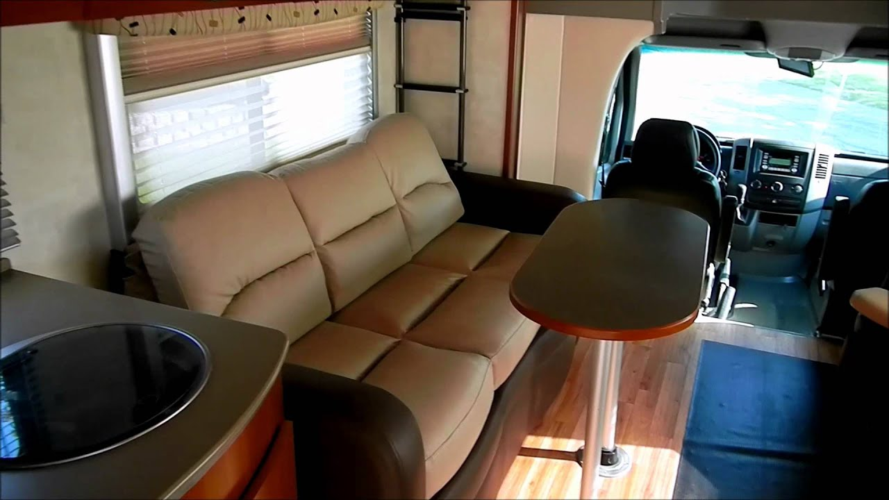 2010 Fleetwood Pulse 24S Dodge Sprinter Motorhome - YouTube