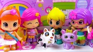Pinypon Doll Box Set Pack Pet Pals Puppy Dog Cat Boy Boyfriend Toy Review Cookieswirlc