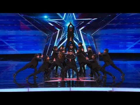 America's Got Talent 2015 S10E02 DM Nation All Female Hip Hop Dance Crew
