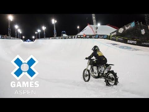Harley-Davidson Snow Hill Climb: FULL BROADCAST   X Games Aspen 2018