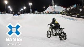 Harley-Davidson Snow Hill Climb: FULL BROADCAST | X Games Aspen 2018
