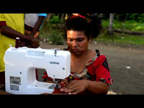 Brother UK - Papua New Guinea Sewing Machine Group with Cool Earth