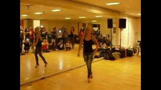 Видео: Kizomba workshop lady styling. Sara