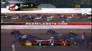 Red Mile Racetrack Race 5 08-25-13