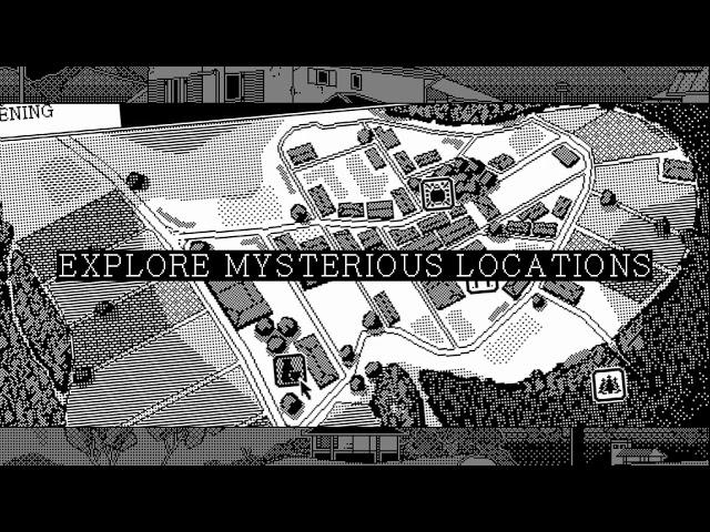 Анонсирован черно-белый RPG-хоррор про японских богов и лавкрафтовских монстров (трейлер)