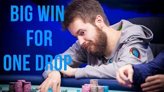 Dominik Nitsche Wins €3,487,463 Big One for One Drop.
