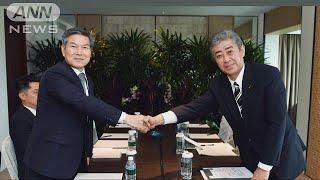 レーダー照射問題で日韓非公式会談 議論は平行線 (19/06/02)