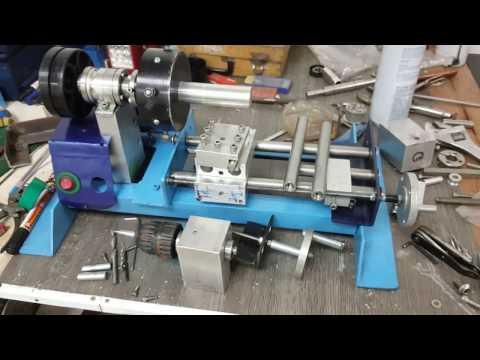 DIY mini lathe machine (Part 2)