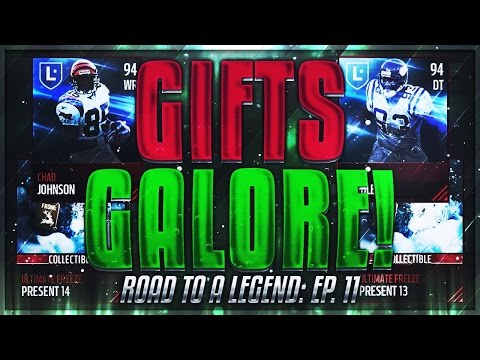 ROAD TO A LEGEND Ep.11! GIFTS GALORE! 1 MILL OPENING! Madden Mobile