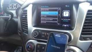 2015 Chevy Tahoe MyLink and Pandora App