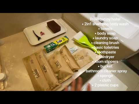Taiwan Quarantine Hotel room with window tour - Citizen Hotel Taipei ZhongZheng | 星辰大饭店隔离房