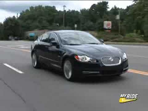 review 2009 jaguar xf youtube. Black Bedroom Furniture Sets. Home Design Ideas