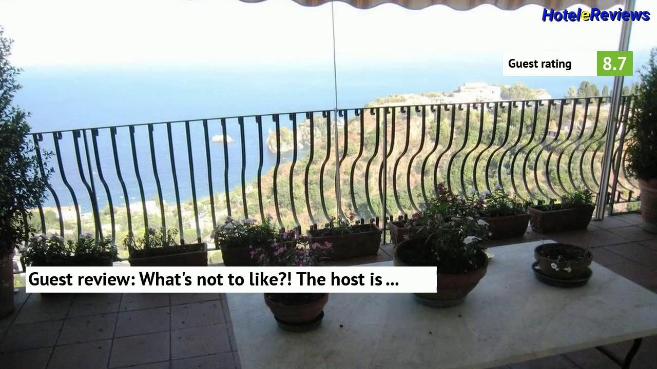 B&B La Terrazza Sul Mare Taormina Hotel Review 2017 HD, Taormina ...