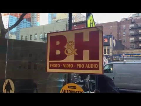 A Visit to B&H Photo