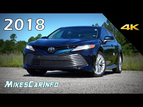 2018 Toyota Camry XLE V6 - Ultimate In-Depth Look in 4K