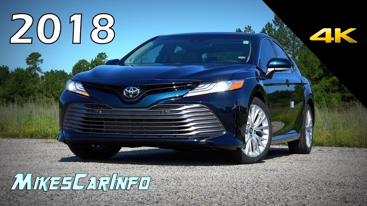2018 Toyota Camry XLE V6 - Ultimate In-Depth Look in 4K - YouTube