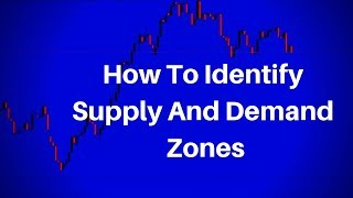 how To Identify Supply And Demand Forex Levels (Using Tick Volume)
