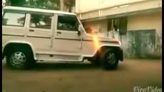 Mahindra bolero funny accident comedy kerala