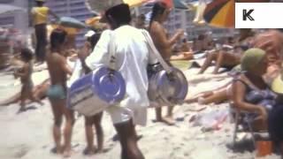 1970s Rio De Janeiro, Brazil, Beach, Home Movies