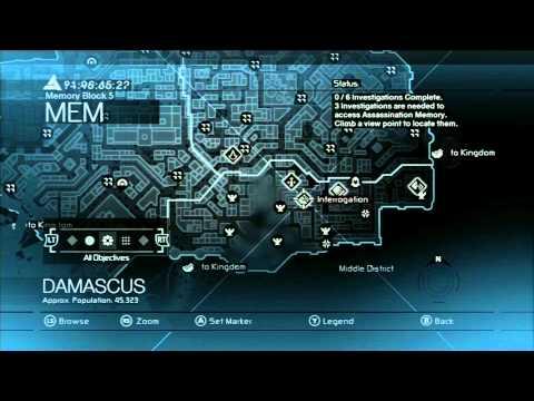 Assassin's Creed 1 - Memory Block 5 (Damascus) - Walkthrough Episode 24