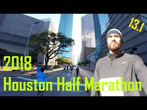 Life in Houston | 2018 Aramco Houston Half Marathon - Sights and Sounds
