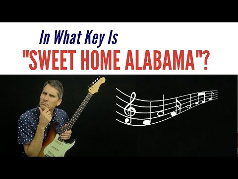 🎸 In What Key Is Sweet Home Alabama? 🎼