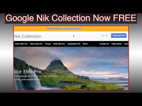 Free Download Google Nik Collection Filters in Photoshop from YouTube · Duration:  6 minutes 37 seconds  · 8,000+ views · uploaded on 5/17/2016 · uploaded by Hass Hasib