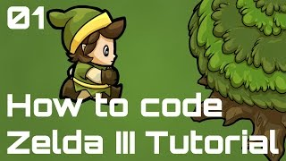 How to code a Zelda III-like Game - Episode 01 - Model-View-Control Pattern