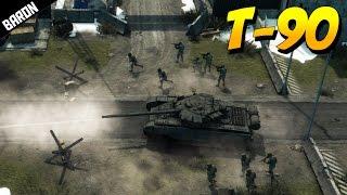 T-90 Russian Main Battle Tank - Warfare Online Gameplay
