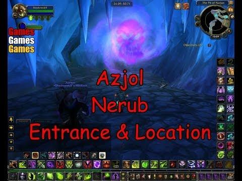 Ahn Kahet Entrance Location World Of Warcraft Wrath Of The Lich King