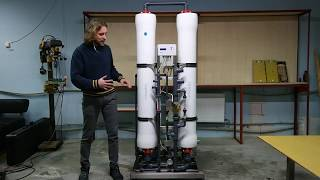 Промышленный обратный осмос 2000 л час. Подробный обзор
