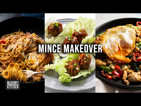 Ground meat MAKEOVER recipes! | Marion's Kitchen
