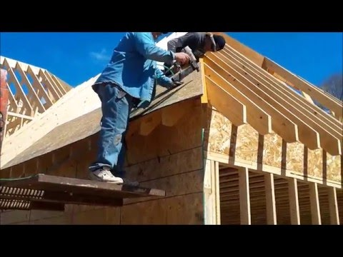 Decking a Hip Roof