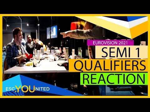 Eurovision 2021: Semi Final 1 Qualifiers REACTION - From the Press Center