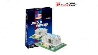 """Monumento a Lincoln"" | ""Lincoln Memorial"" - Puzzle 3D"