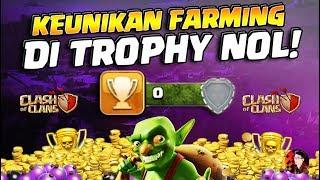 Keajaiban Farming Di Trophy Kosong! - Clash of Clans