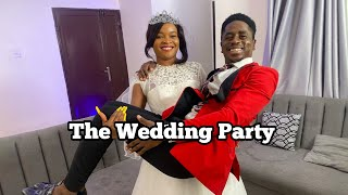 THE WEDDING PARTY | Mc Shem Comedian